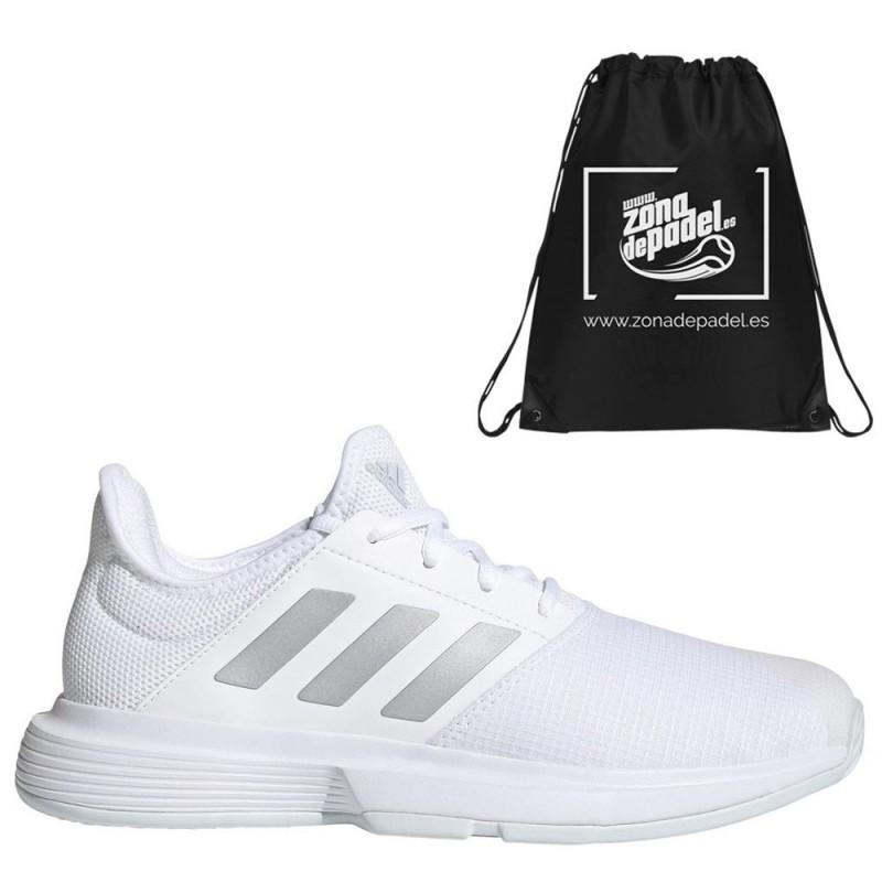Zapatillas Adidas GameCourt W White Silver 2021