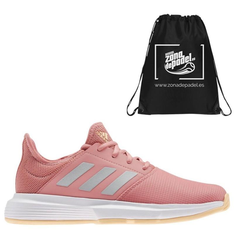 Zapatillas Adidas GameCourt W Rose Silver 2021