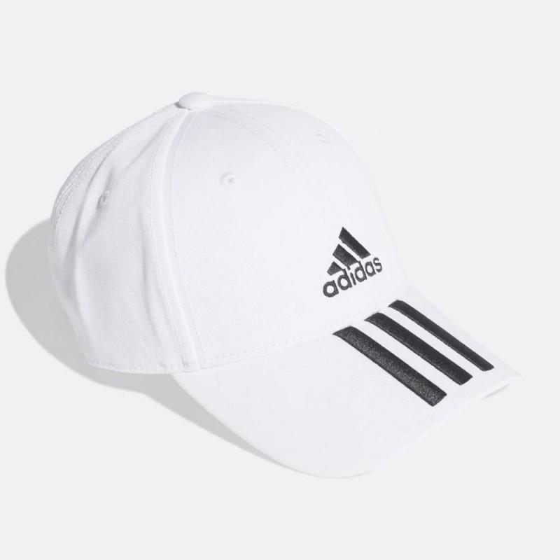 Gorra Adidas BBALL 3S CAP Blanca