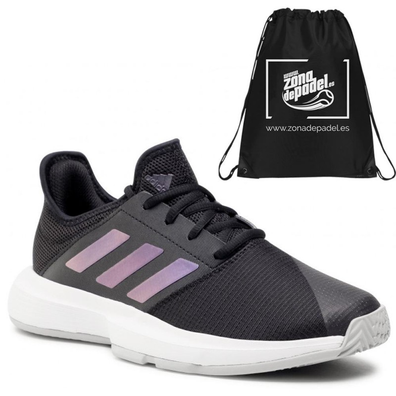 Zapatillas Adidas GameCourt Woman Black Core 2021