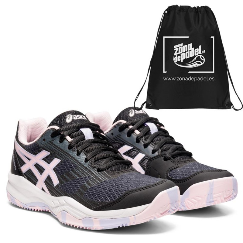 Asics Gel Padel Exclusive 6 Woman Black Pink Salt 2021