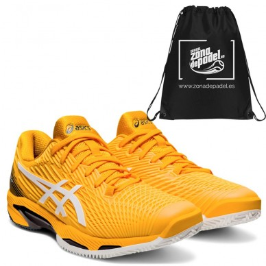 AsicsAsics Solution Speed FF 2 Clay Amber White 2021