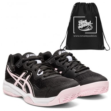 AsicsAsics Gel Padel Pro 4 GS Kids Black Pink Salt 2021