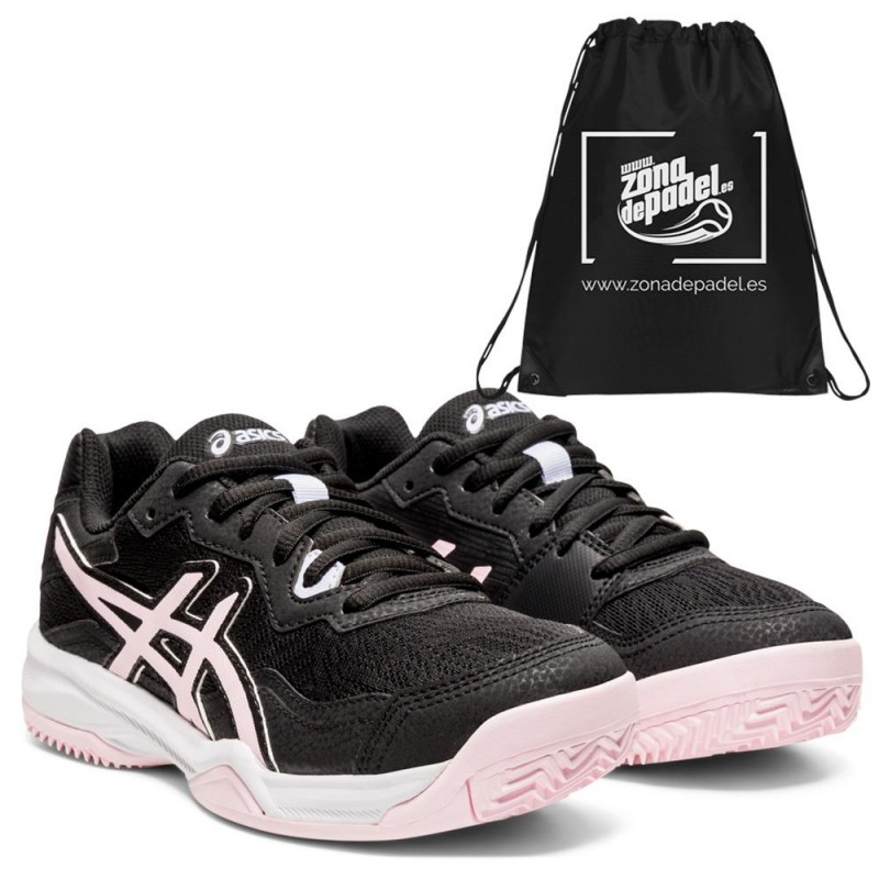 Zapatillas Asics Gel Padel Pro 4 GS Kids Black Pink Salt 2021