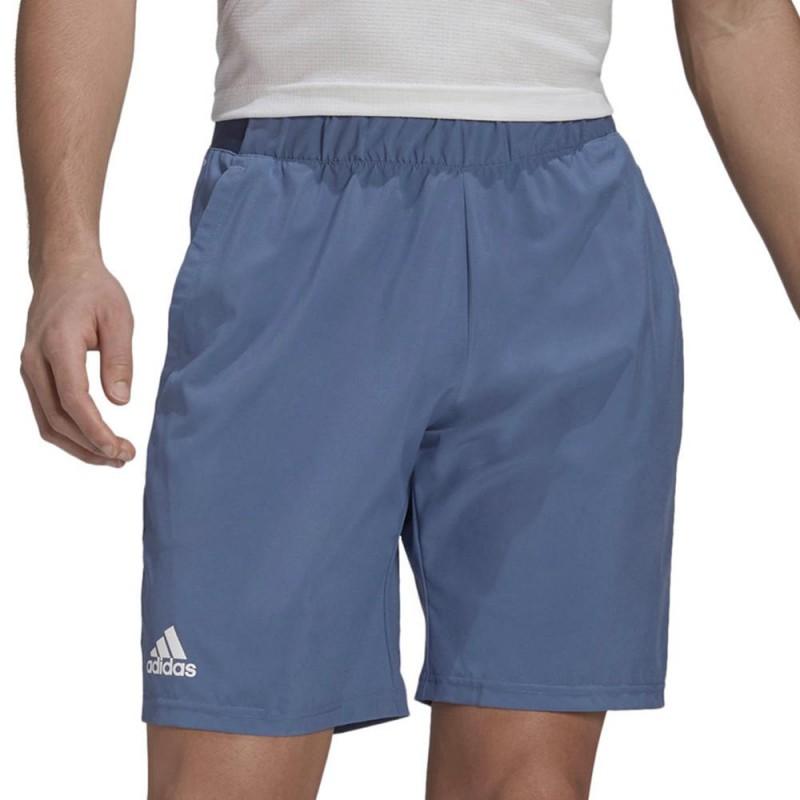 Pantalón Adidas Club SW Crew Blue White