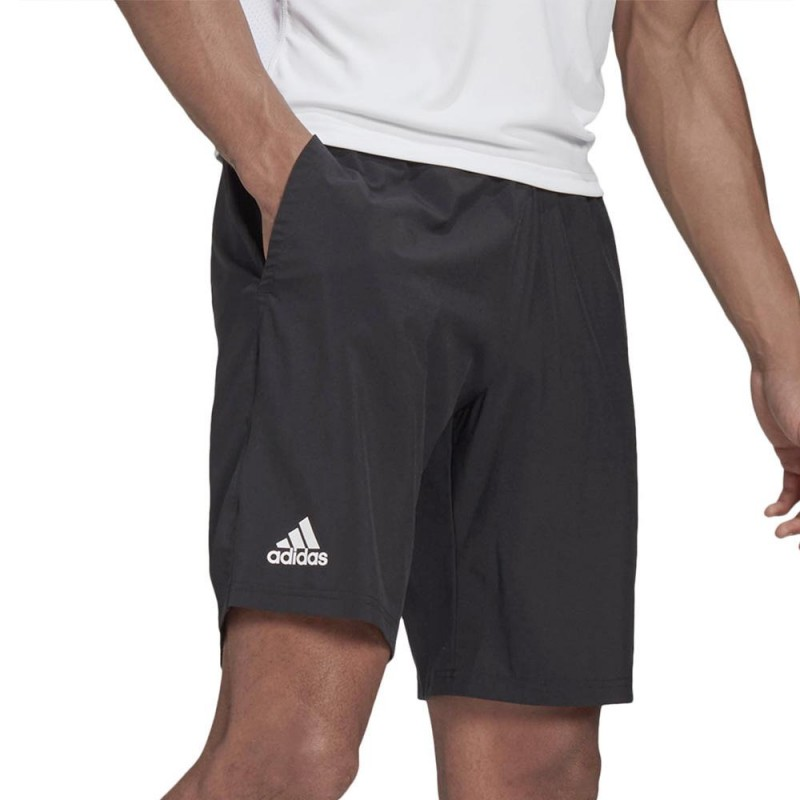 Pantalón Adidas Club SW Crew Black White