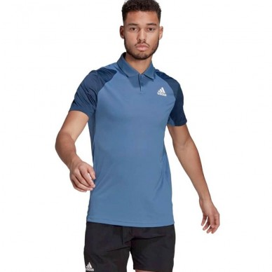 Adidas Polo Adidas Club Crew Navy White