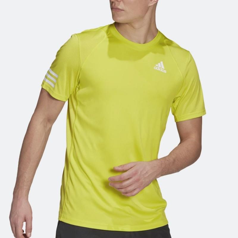 Camiseta Adidas Club 3STR Acid Yellow 2021