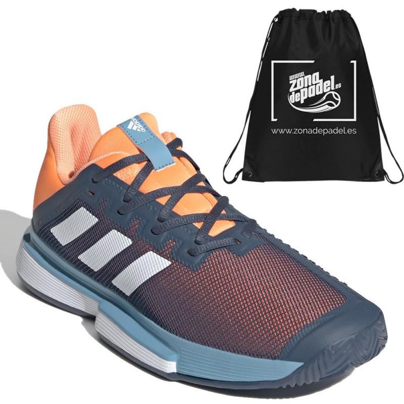 Zapatillas Adidas SoleMatch Bounce M Crew Navy Blue 2021
