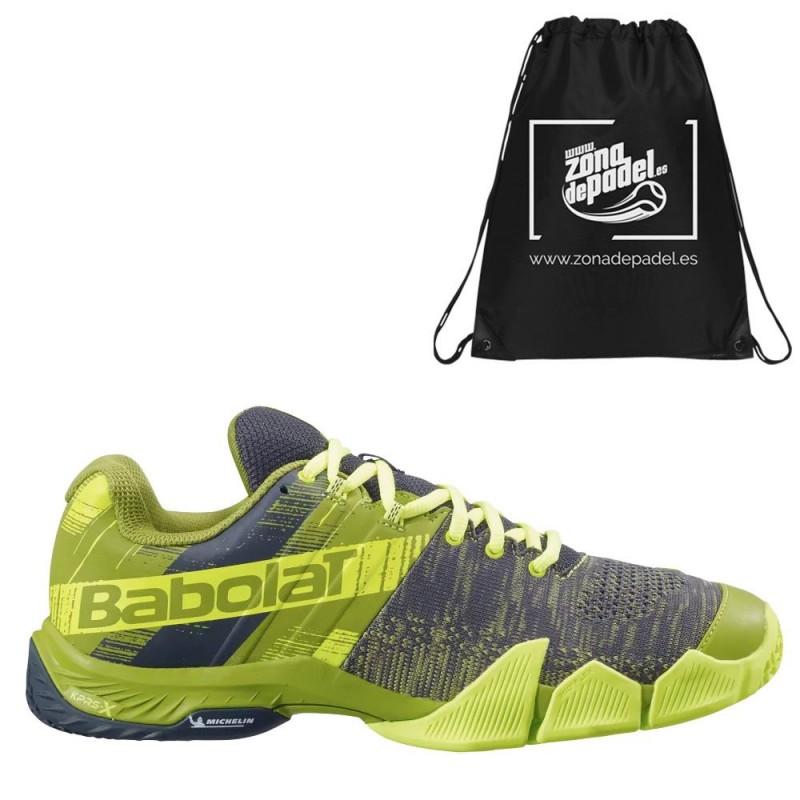 Zapatillas Babolat Movea Men Spinach Green Fluor Yellow 2021