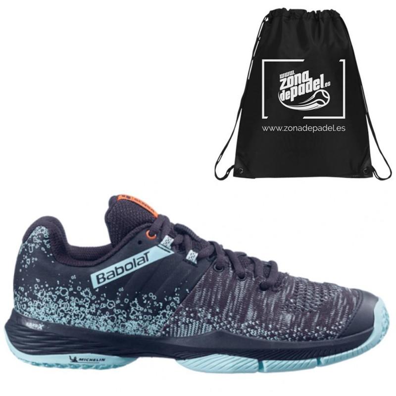 Zapatillas Babolat Sensa Women Black Turquoise 2021