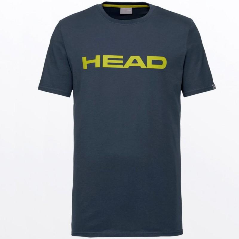 Camiseta Head Club Ivan Men Blue Yellow