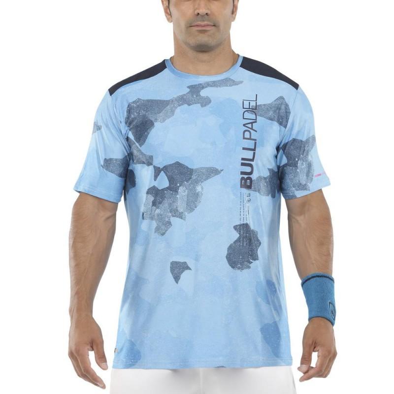 Camiseta Bullpadel Mesay Azul Intenso