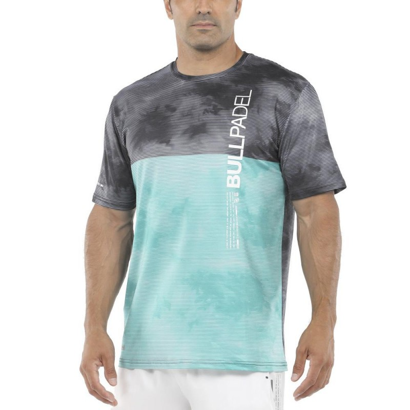 Camiseta Bullpadel Mitu Verde Acido