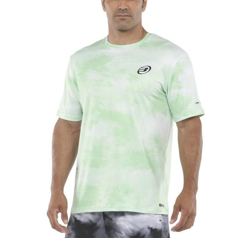 Camiseta Bullpadel Mado Verde Acido