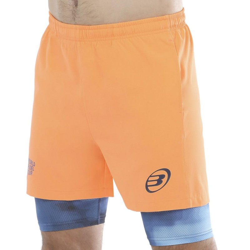 Pantalon Bullpadel Valdivia Naranja