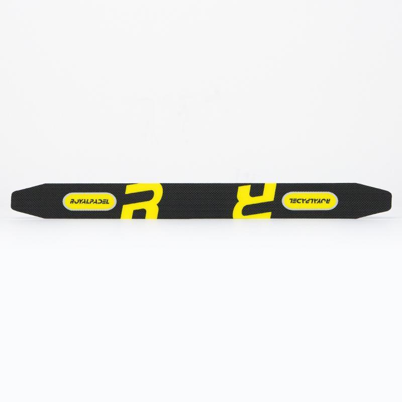 Protector Royal Padel Negro Logo Amarillo