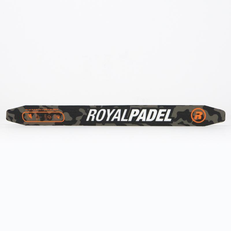 Protector Royal Padel Camuflaje Naranja