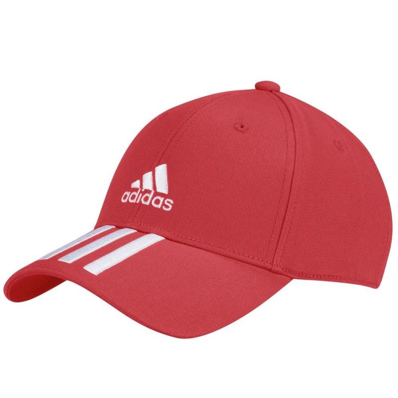 Gorra Adidas BBALL 3S CAP Vivid Red