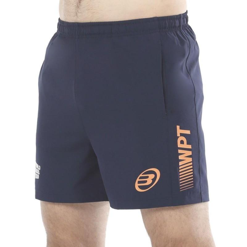 Pantalon Bullpadel Vetas Oceano Profundo Naranja