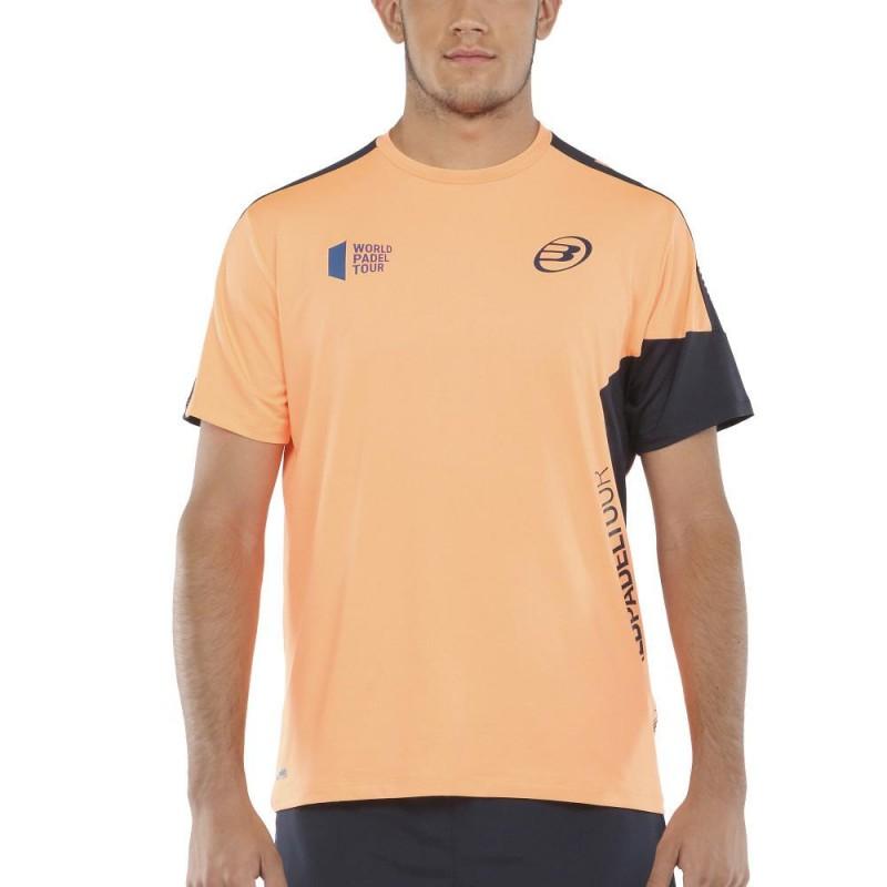 Camiseta Bullpadel Viani Naranja Fluor