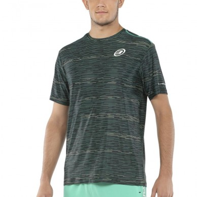 BullpadelCamiseta Bullpadel Metane Negra