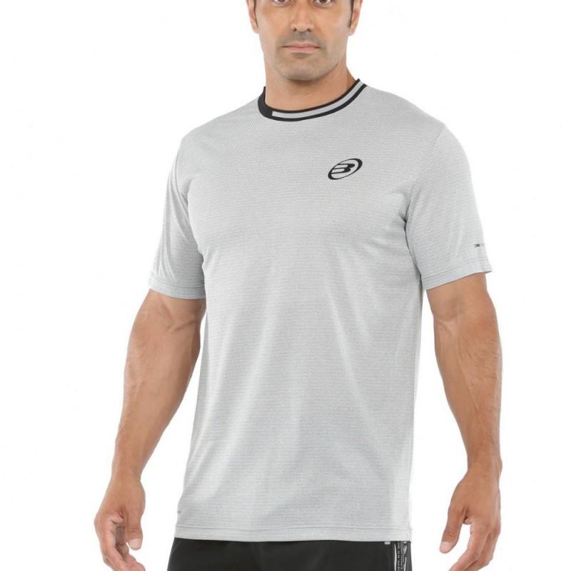 Camiseta Bullpadel Micay Gris Claro Bicolor