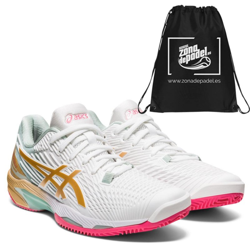 Asics Solution Speed FF 2 L.E. Woman White Champagne 2021