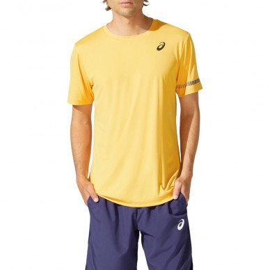 AsicsCamiseta Asics Court SS TEE Tiger Yellow