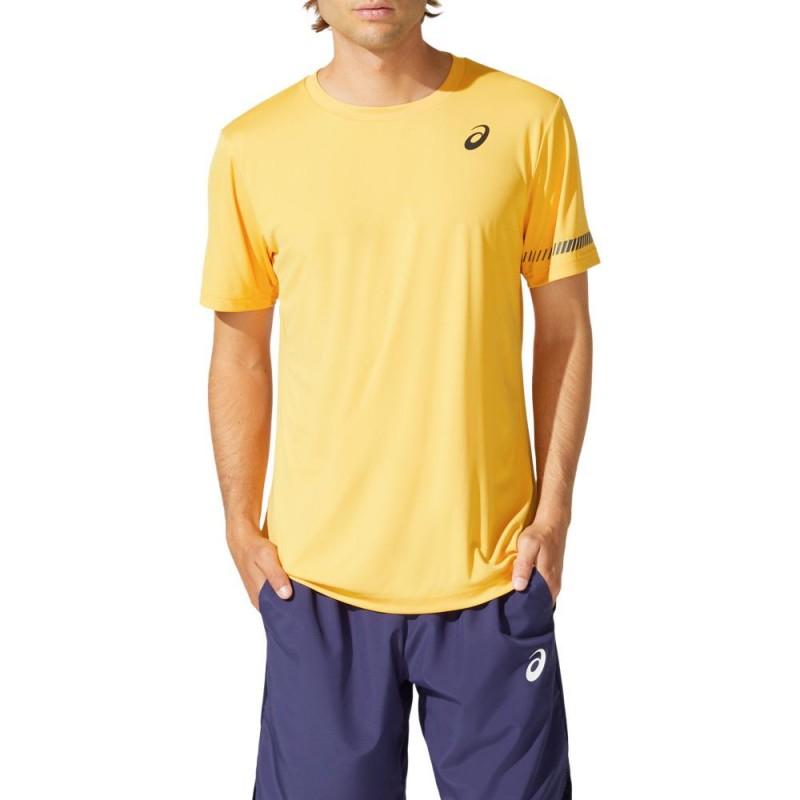 Camiseta Asics Court SS TEE Tiger Yellow