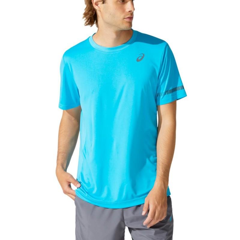Camiseta Asics M SS TEE Digital Aqua
