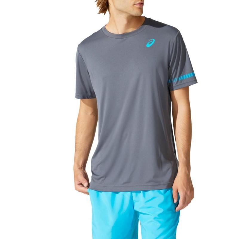 Camiseta Asics M SS TEE Carrier Grey
