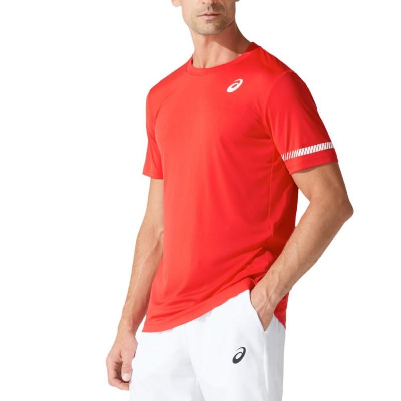 Camiseta Asics Court SS TEE Classic Red