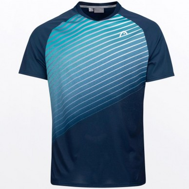 Head Camiseta Head Perf T-shirt M Azul Turquesa
