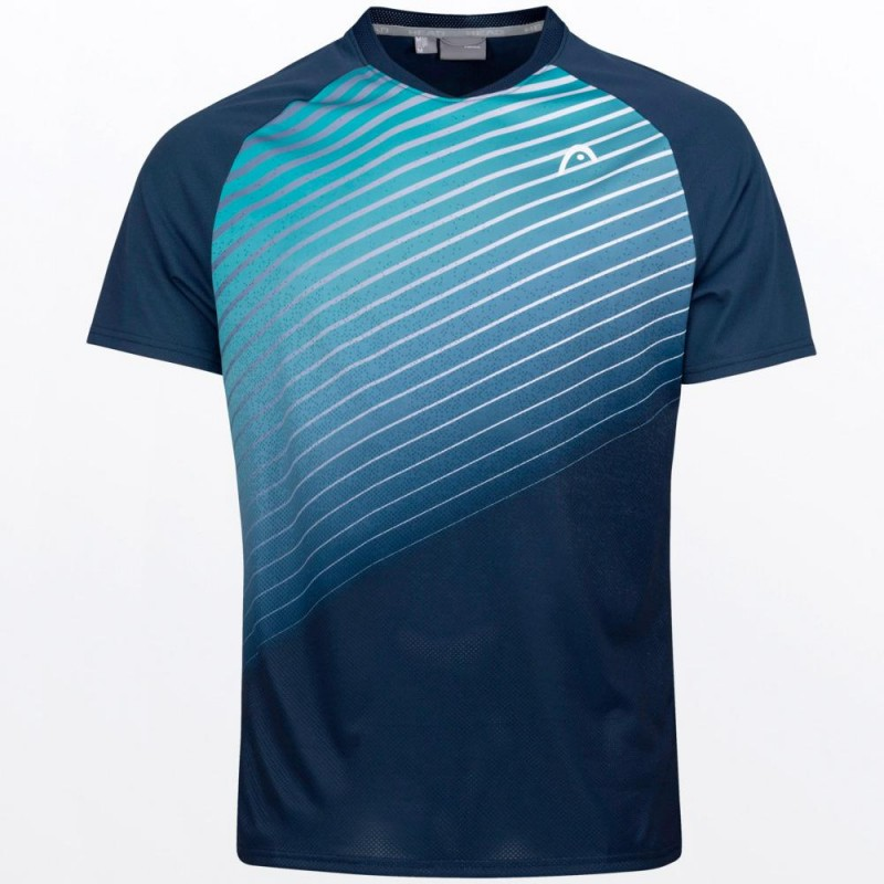 Camiseta Head Perf T-shirt M Azul Turquesa