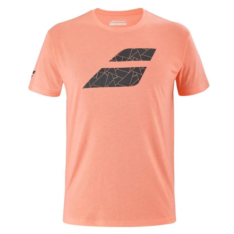 Camiseta Babolat Big Flag TEE Men Living Coral