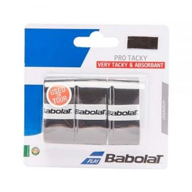 BullpadelOvergrips Babolat Pro Tacky X3 Negros