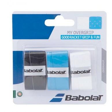 BabolatOvergrips Babolat My Overgrip x3 Black Blue White