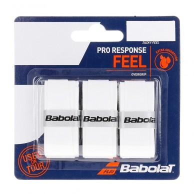 BabolatOvergrips Babolat Pro Response Feel x 3 Blancos
