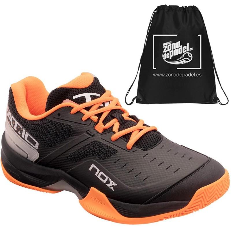 Zapatillas Nox AT10 Negro Naranja