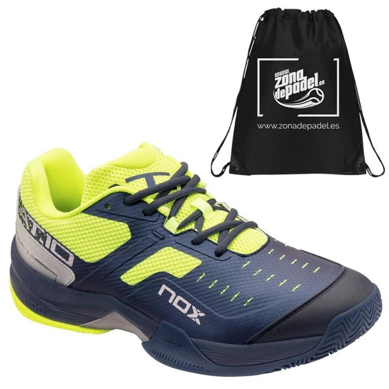 Zapatillas Nox AT10 Azul Amarillo Fluor