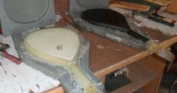 El Proceso de fabricación de las palas de pádel