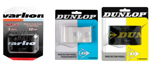 Tipos de protectores para palas de pádel