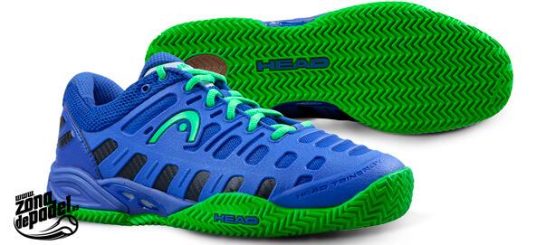 Zapatillas Head Speed Pro II Herringbone, venida del futuro