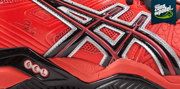 Zapatillas de Pádel Asics Bela 4 rojas