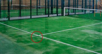 Las pelotas al medio en el pádel pueden ser decisivas