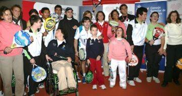 Iniciación al mundo del padel adaptado: deporte, diversión, integración