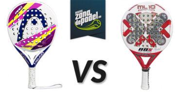 Head Zephyr vs Nox ML-10 Pro Cup Women