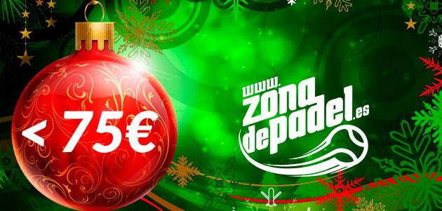 Regalos de padel para Navidad 2013 por menos de 75 euros