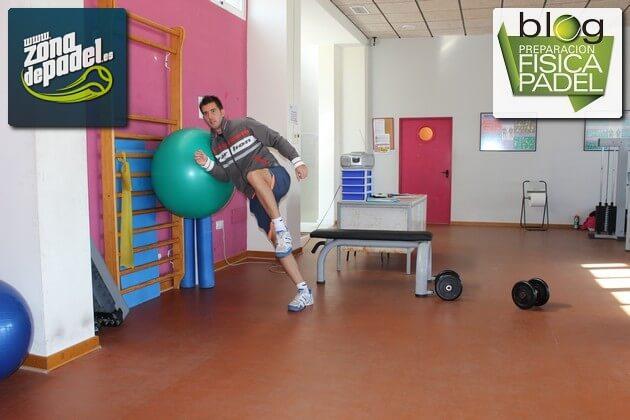 Mejorando la condición física con un entrenamiento con fitball